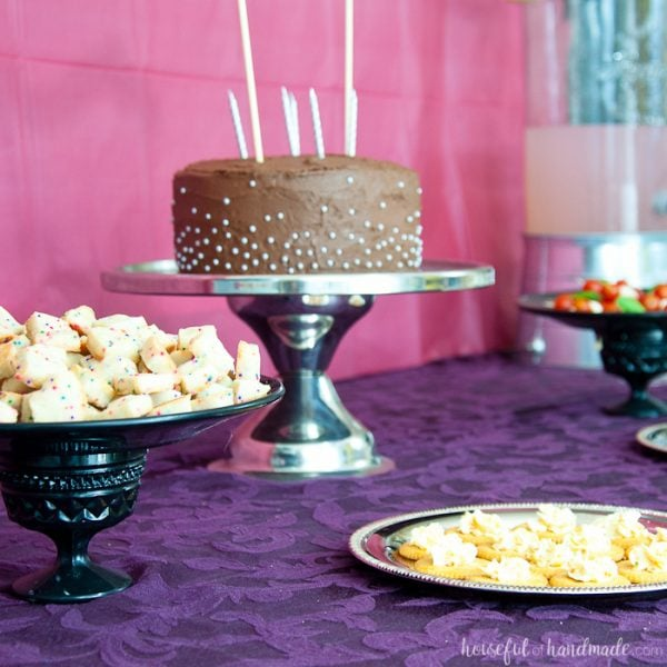 Masquerade Ball Themed Birthday Party