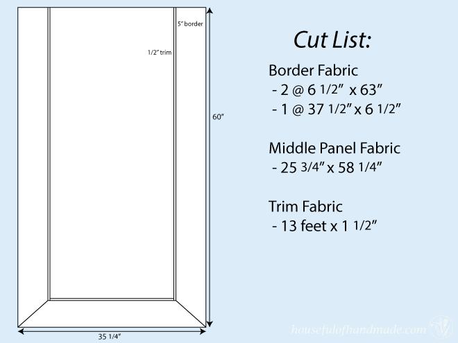 Roman-Shade-Cut-List