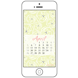 Free Desktop and Smartphone Backgrounds for April
