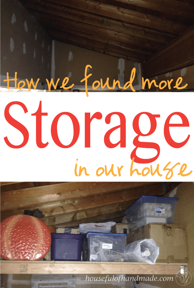 How we found more storage in our house | Houseful of Handmade