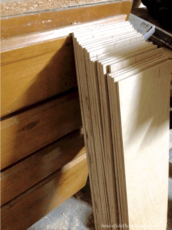How to install a large feature plank wall for under $100. | Houseful of Handmade