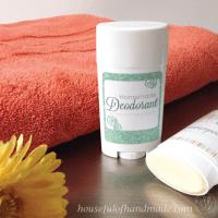 Homemade Deodorant Stick