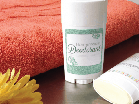 Homemade Deodorant Stick - Houseful of
