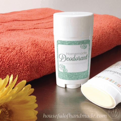 Homemade Deodorant Stick