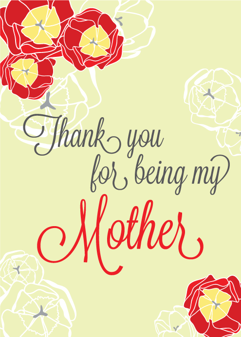Free Printable Mother's Day Card from Houseful of Handmade.