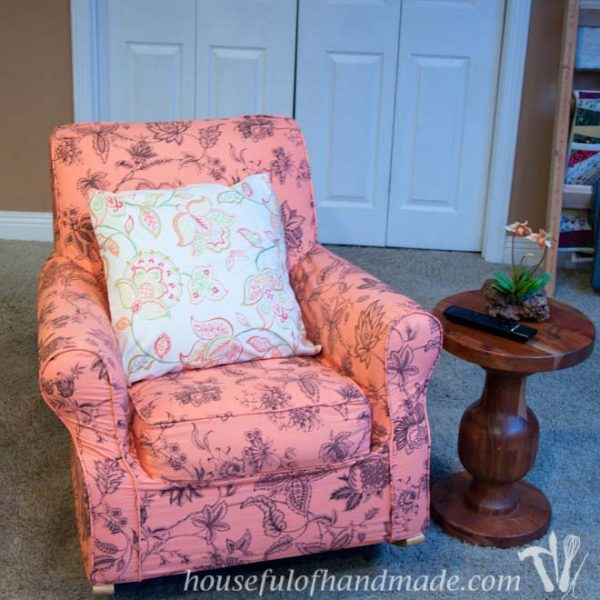 One Day $5 Chair Makeover