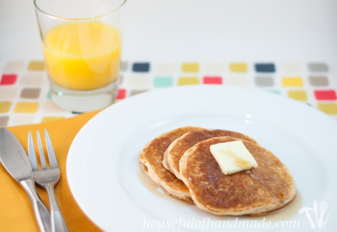 Healthy Everyday Pancakes