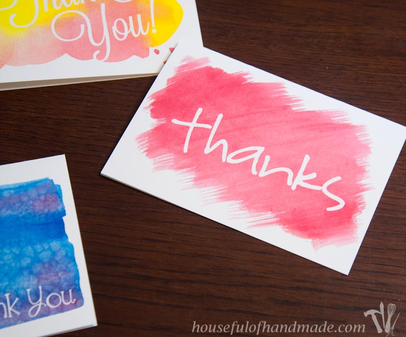 Use watercolors and Illustrator to make a printable card