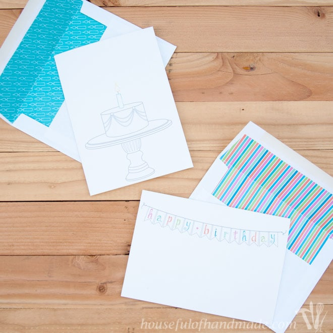 Free Printable Birthday Cards Houseful Of Handmade