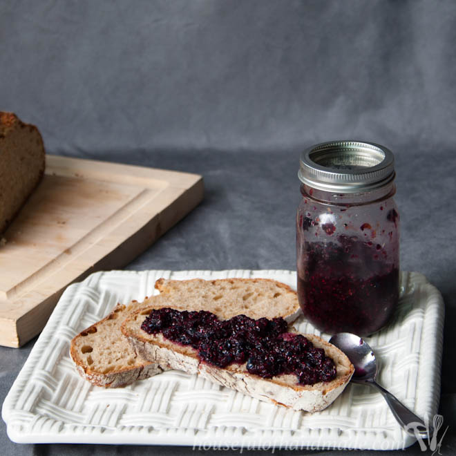 Blueberry Lemon Chia Seed Jam