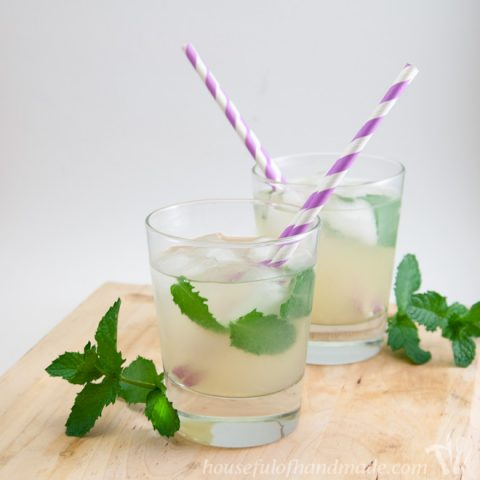 Low Sugar Mint Limeade