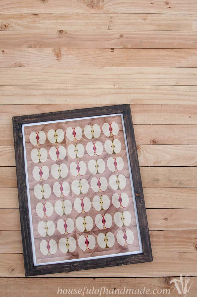 Build A Rustic Picture Frame In 20 Minutes Houseful Of Handmade
