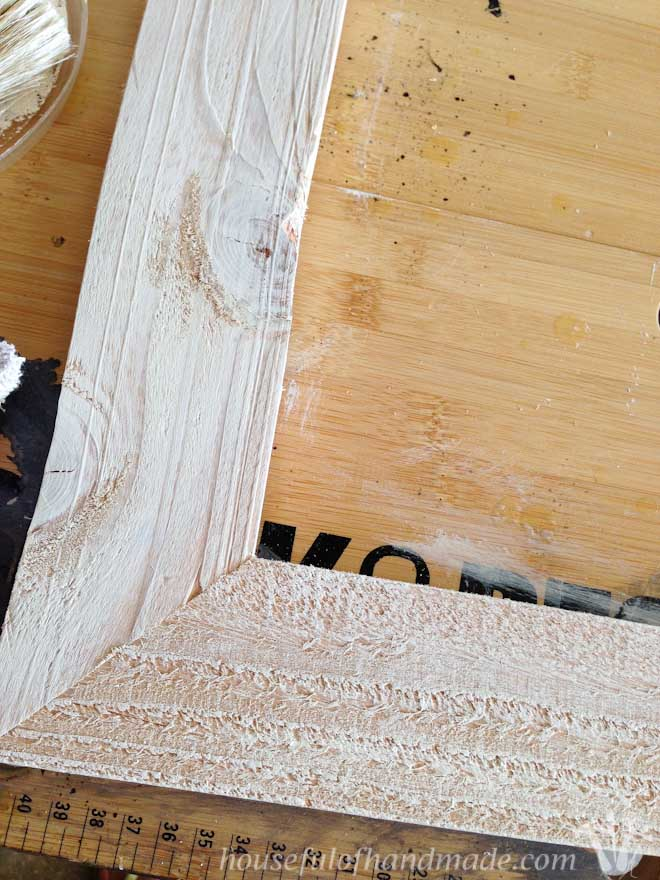 I Love These Rustic Picture Frames And They Are So Quick To Diy You Can