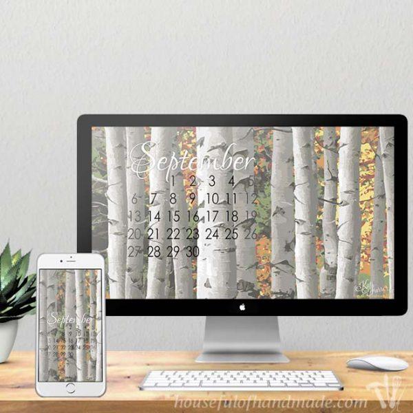 Free Backgrounds for your Desktop & Smartphone for September