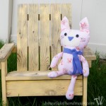 A simple stuffed kitten to help a little girl on her surgery day. From Houseful of Handmade.