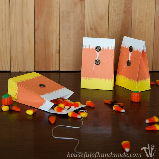 Free Printable: Ikat Candy Corn Treat Bag