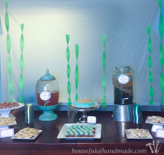 The Perfect Birthday Party For A Little Girl Mermaid Tea Lots Of