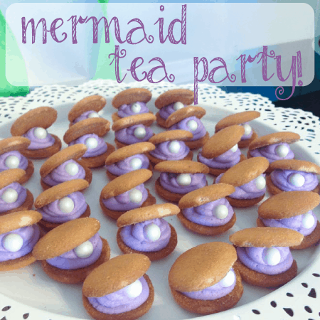 Mermaid Tea Party Birthday