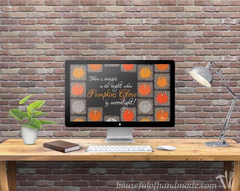 free backgrounds for your desktop smartphone for october