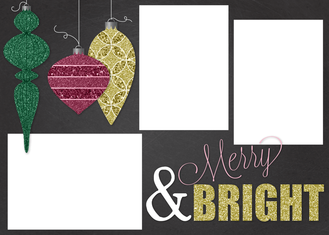 free customizable christmas card template