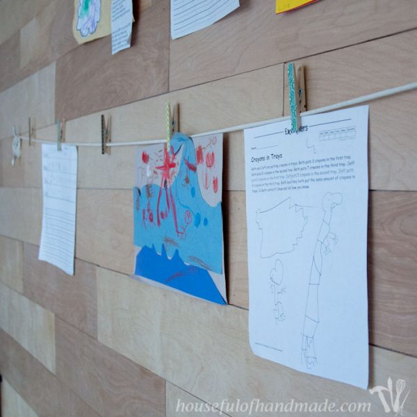 Nautical Art Display Wall