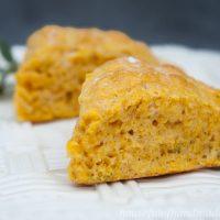 Savory Pumpkin Sage Scones