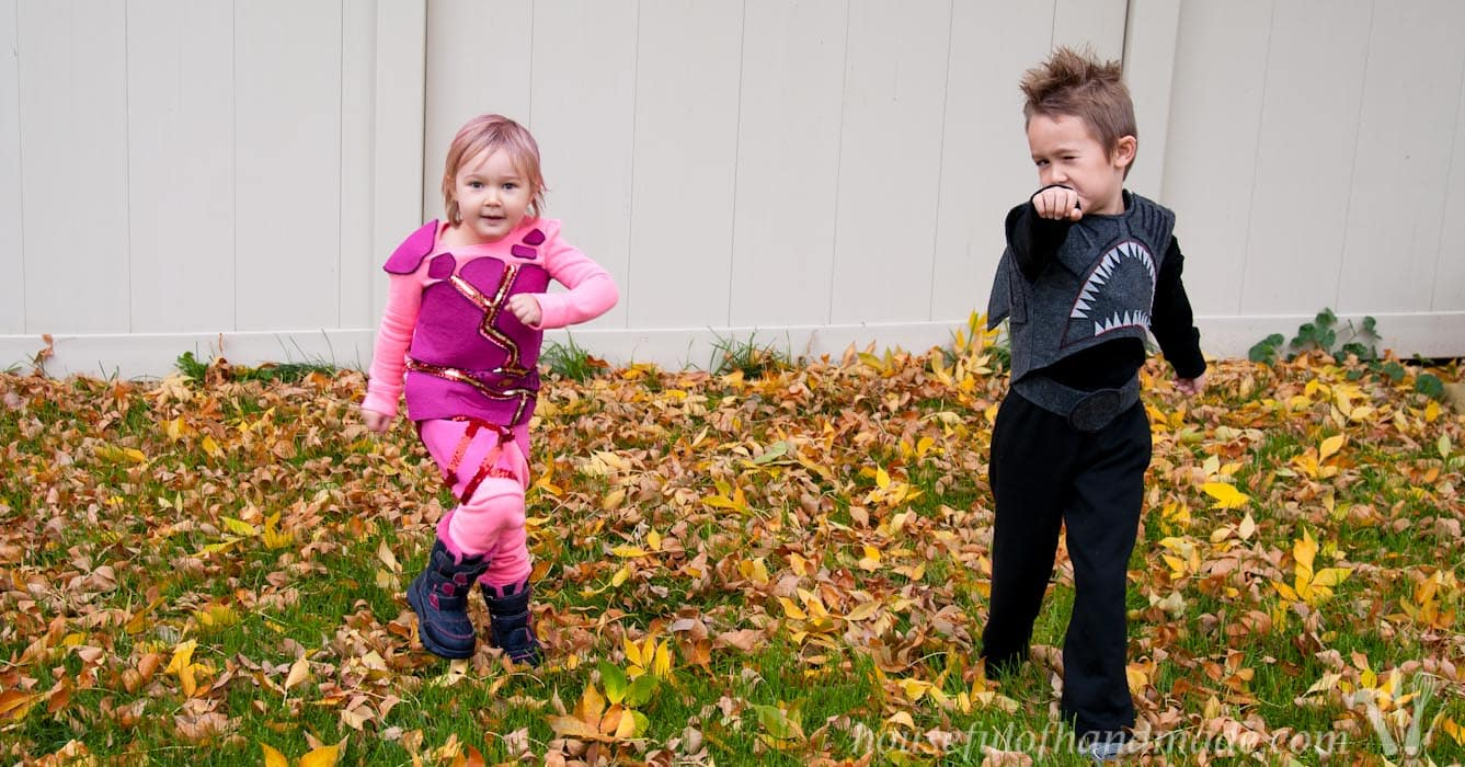 sharkboy and lavagirl halloween costumes - houseful of handmade