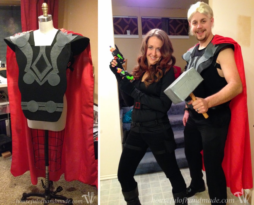 Homemade Halloween costumes are the best! I use a few key techniques almost every year for our Halloween costumes. See how I make the best costumes each year. | HousefulofHandmade.com