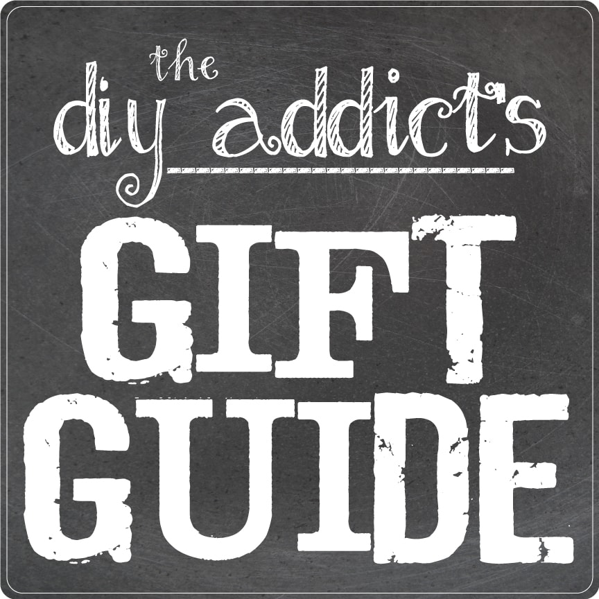 Need some help buying for the DIYer in your life? This DIY Addict's Gift Guide has great ideas for the builder, chef, sewer, and crafter in your life. | HousefulofHandmade.com