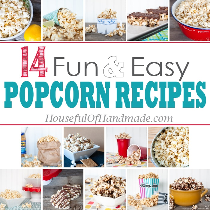14 Fun & Easy Popcorn Recipes