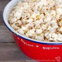 Brown Butter & Honey Popcorn