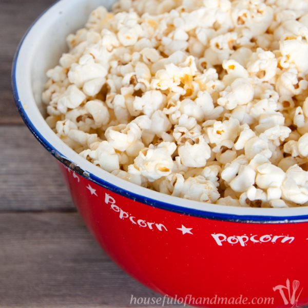 Brown Butter & Honey Popcorn