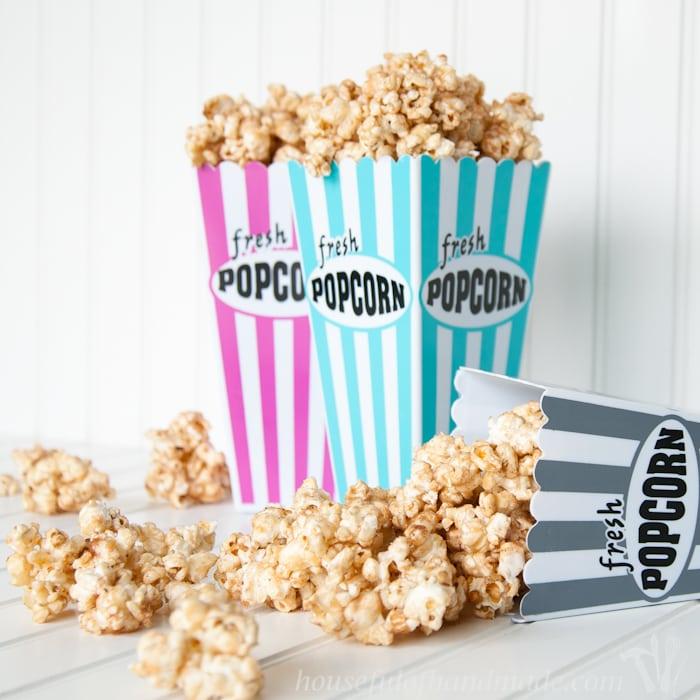 Churro Caramel Popcorn