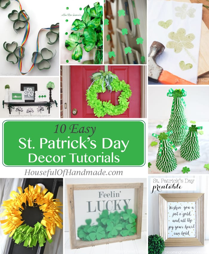 10 Easy St. Patrick's Day Decor Tutorials
