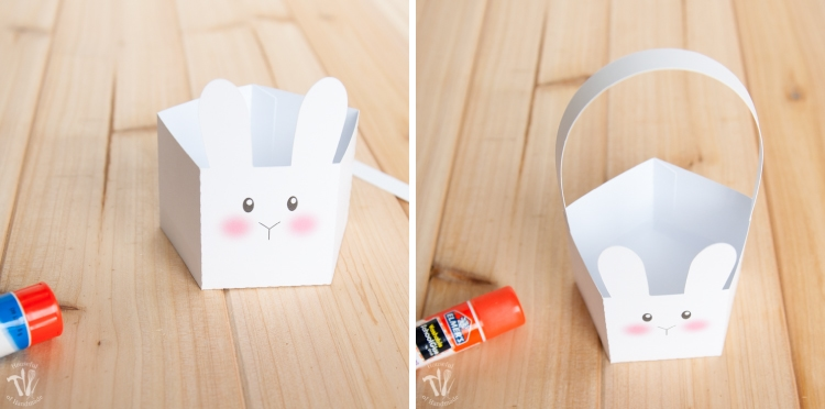 How cute are these free printable bunny boxes?