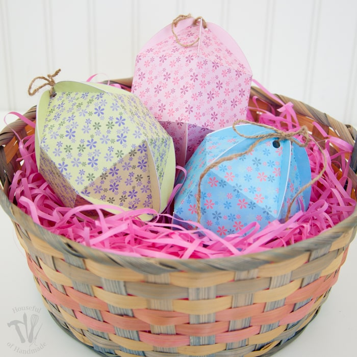 How to Make Egg Shaped Boxes