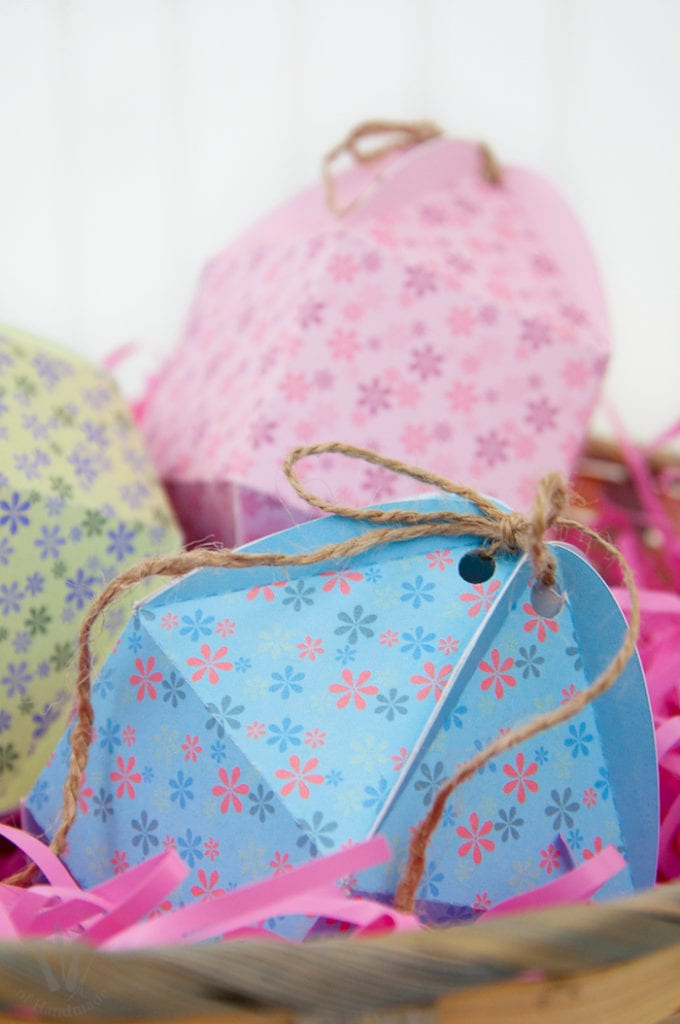 What's Easter without candy filled eggs? These bright and colorful free printable egg shaped boxes are perfect for filling your Easter basket with the best treats. Housefulofhandmade.com