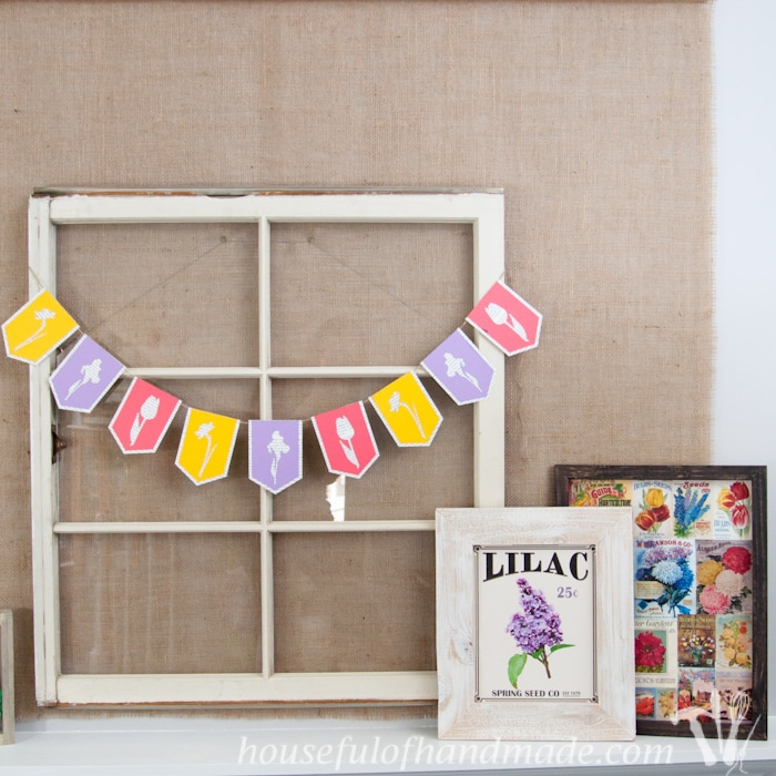 Spring Flower & Book Page Banner