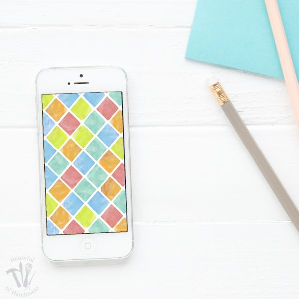 Stay organized each month with these bright bold free digital backgrounds for May. Comes with or without a calendar for your smartphone and desktop. | Housefulofhandmade.com