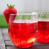 Strawberry Hibiscus Sparkling Water