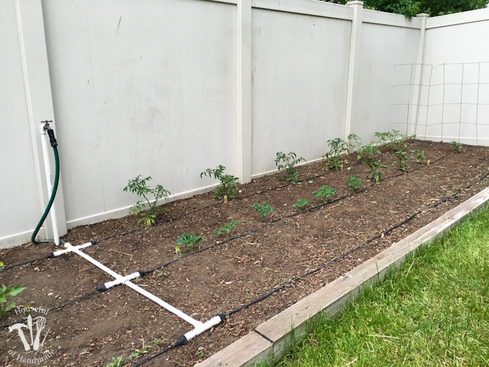 howto install watering system for garden