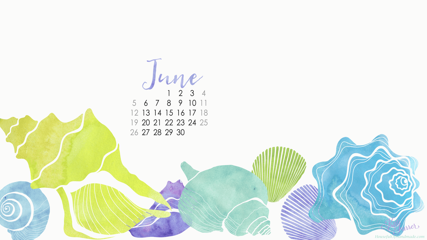desktop background with calendar
