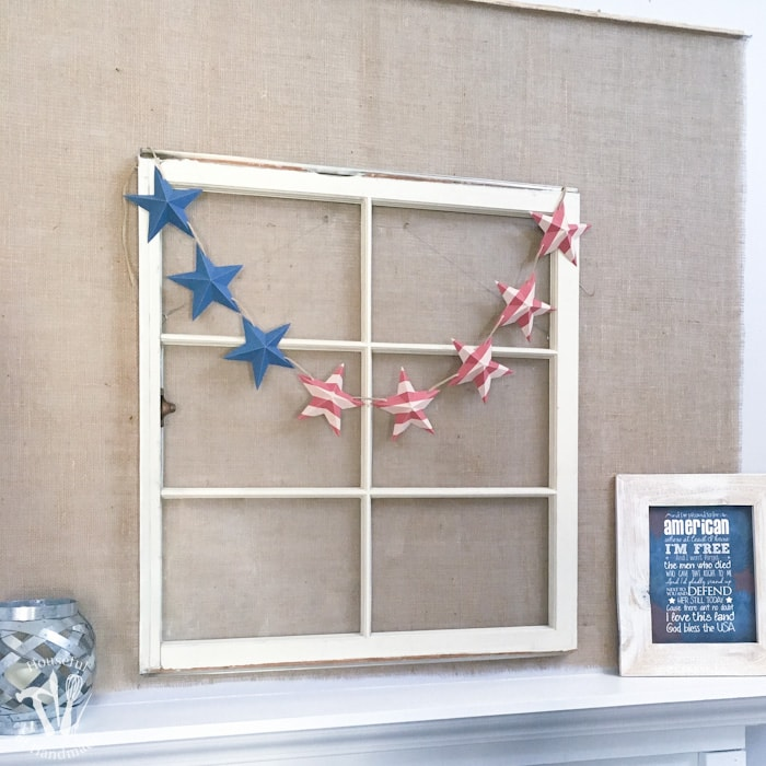 Free Printable Stars and Stripes Patriotic Banner