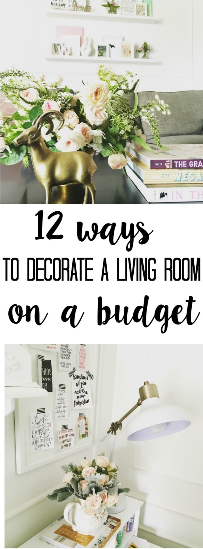 For Decorating A Living Room On A Budget 12 Tips For Decorating A Living Room On A Budget A Houseful Of