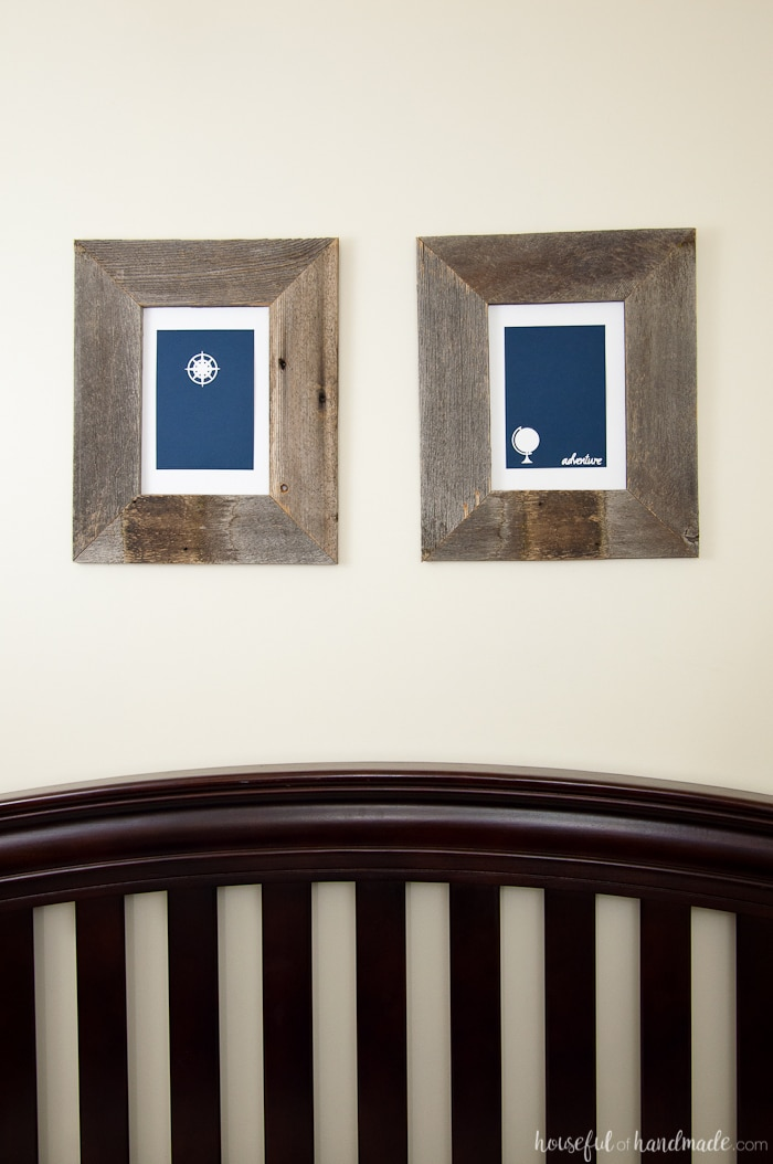 Adventure Wall Art for a Boys Room - Houseful of Handmade