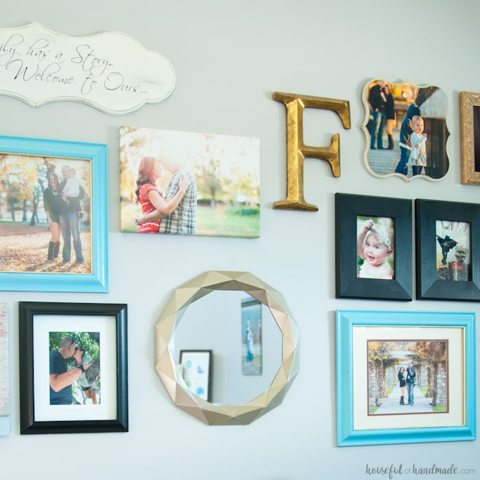 I cannot believe what she used to make this mirror! Decorating your home can get expensive, unless you get creative. This easy $10 Anthropologie mirror knock off tutorial shows you how to get huge style without the huge price tag.   Housefulofhandmade.com