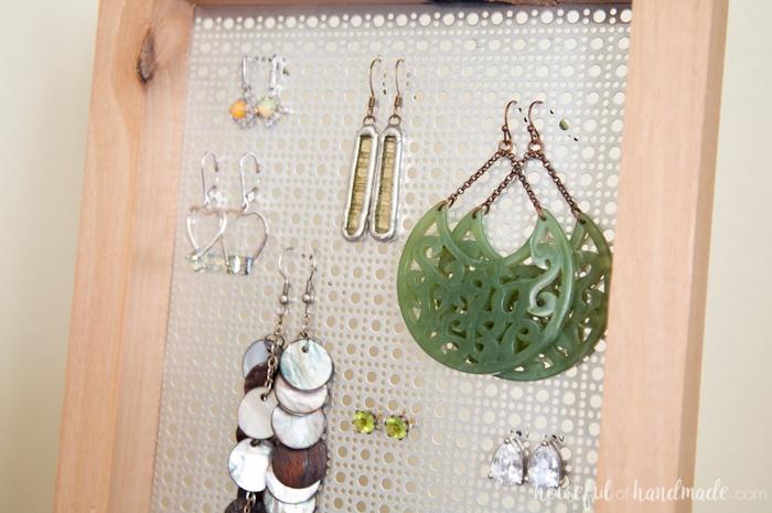 Easy Diy Earring Stand Houseful Of Handmade
