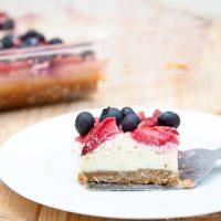 Oatmeal Berry Cheesecake Bars Recipe