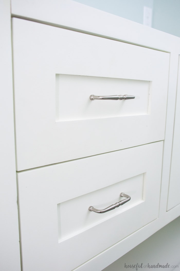 Mission Style Open Shelf Bathroom Vanity Build Plans Houseful Of