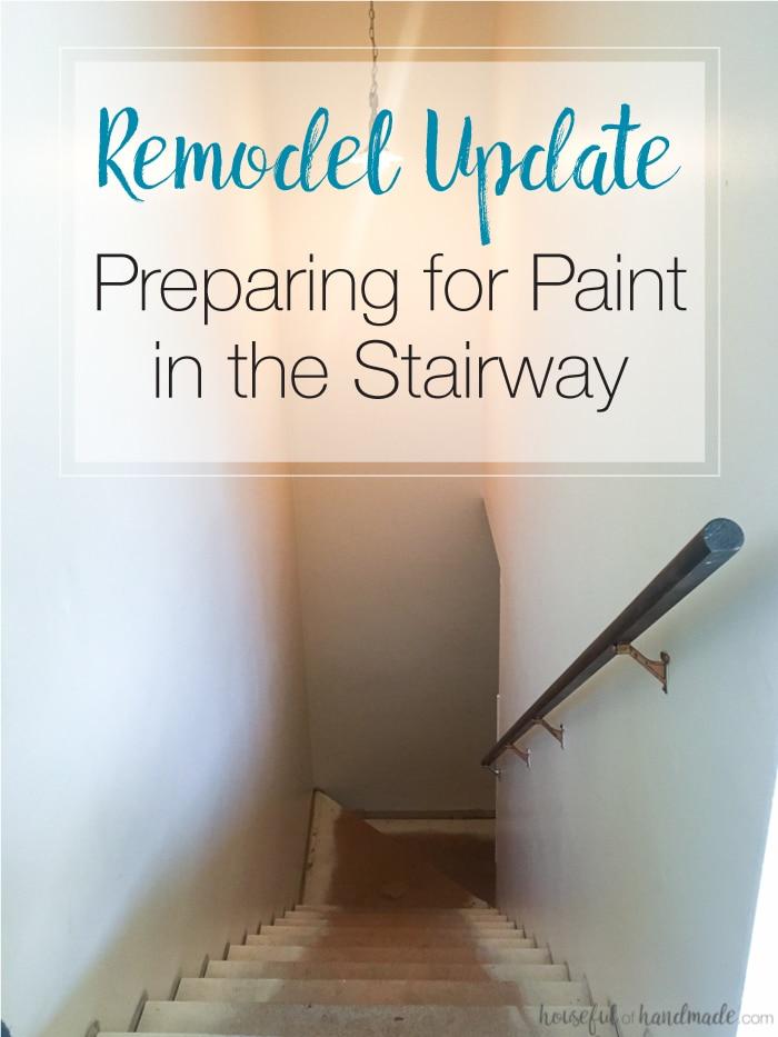 remodel update in hallway
